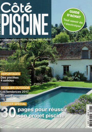 Côté Piscine n°27 Novembre/Décembre 2016/Janvier 2017