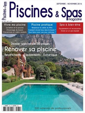 Piscines et Spas magazine n°235 Septembre/Novembre 2016