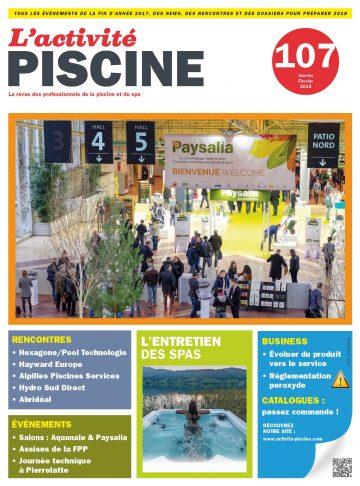 L'activité Piscine n°107 Janvier/Février 2018