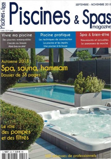 Piscines & Spas n°243 Septembre/Novembre 2018
