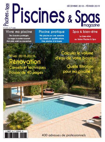 Piscines & Spas n°244 Décembre/Février 2019